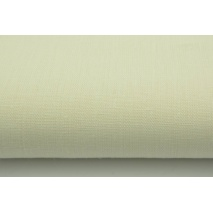 100% plain linen in cream color 280 g/m2