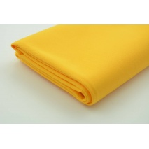 Drill, 100% cotton fabric in a plain yellow-orange