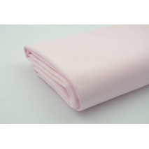 Drill, 100% cotton fabric in a plain pastel pink colour