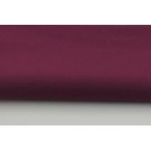Bawełna 100% burgund jednobarwna