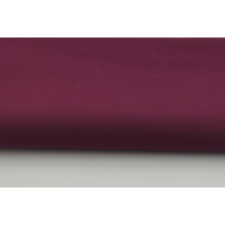 Cotton 100% plain burgundy color