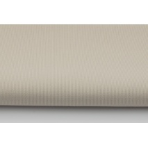 Ribbed 100% cotton, plain beige