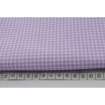 Bawełna 100% fioletowa mała krateczka *1m*