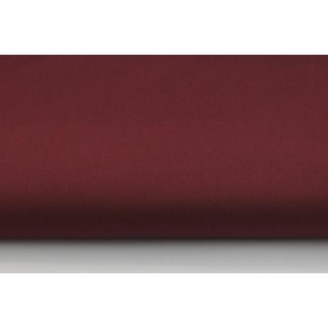 100% Cotton plain claret drill