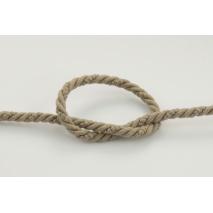 Dark beige 6 mm Cotton Cord