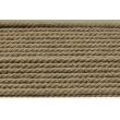 Sznurek bawełniany o średnicy 6mm, ciemny beż