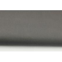 Drill, 100% cotton fabric in a plain dark gray color