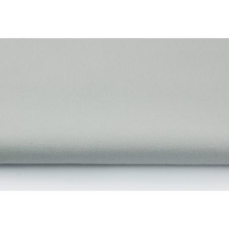 100% Cotton plain light gray drill
