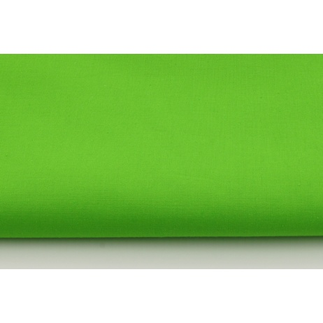 Cotton 100% plain green apple