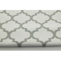 HD szara koniczyna marokańska na białym tle - HOME DECOR