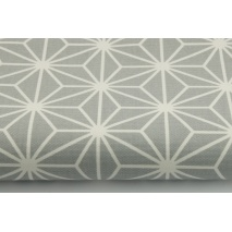 100% cotton HOME DECOR, HD gray diamonds