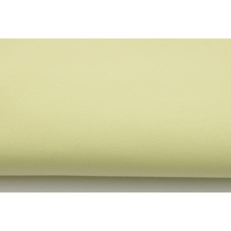 Drelich, bawełna 100%, żółty cytrynowy