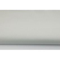 Bawełna prążkowana siwa jednobarwna