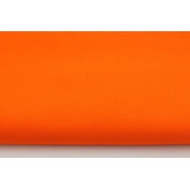 Cotton 100% plain intense orange