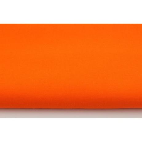Cotton 100% plain intense orange