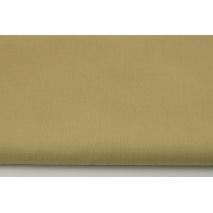 Bawełna 100% średni beż, jednobarwna