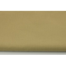 Cotton 100% plain medium beige
