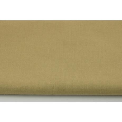 Cotton 100% plain medium beige