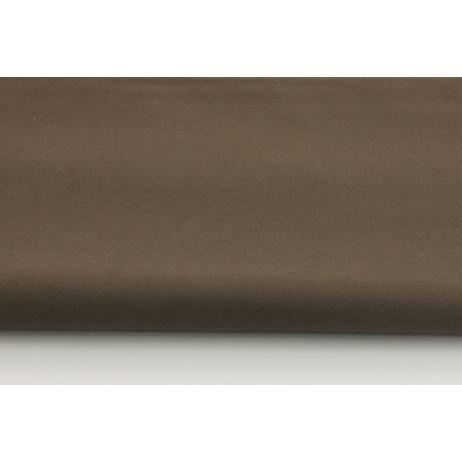 Cotton 100% plain gray-brown