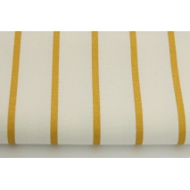 Home Decor, złote paski 5mm na białym tle