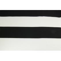 Home Decor, pasy czarne 9,5cm na białym tle