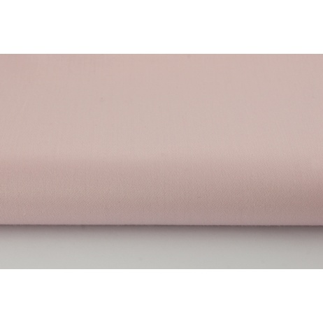 Cotton 100% plain powder, dirty pink sateen