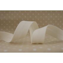 Cotton bias binding ecru 18mm