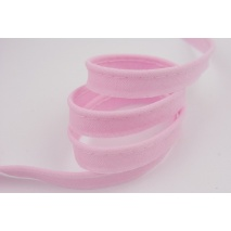 Cotton edging ribbon pink
