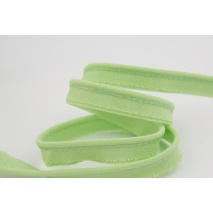 Cotton edging ribbon celadon