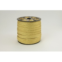 Bias binding gold glitter