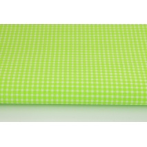 Bawełna 100% zielona mała krateczka *1m*