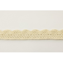 Cotton lace 15mm cream