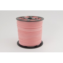 Cotton edging ribbon dirty pink