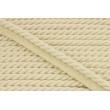 Sznurek bawełniany naturalny z taśmą o średnicy 10mm