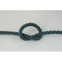 Dark gray 10mm Cotton Cord