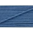 Sznurek bawełniany ciemnoniebieski o średnicy 6mm