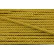 Sznurek bawełniany musztardowy o średnicy 6mm