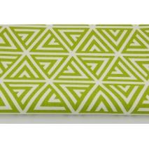 Home Decor, zielone piramidy na białym tle HD