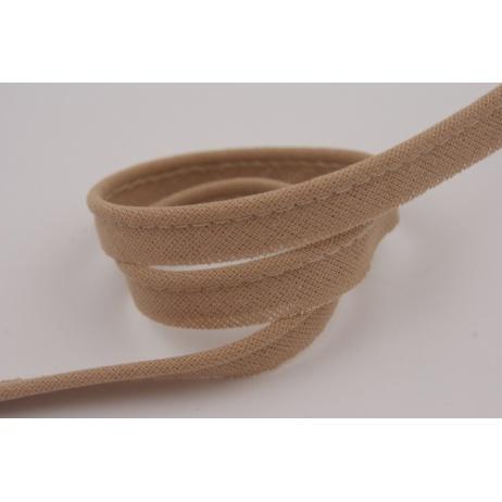 Cotton edging ribbon warm beige