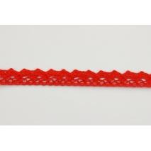 Koronka bawełniana 15mm, czerwona