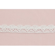 Cotton lace 23mm, white