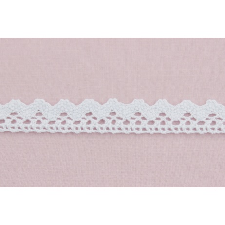 Cotton lace 22mm, white