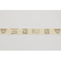 Tasiemka bawełniana hand made 26mm