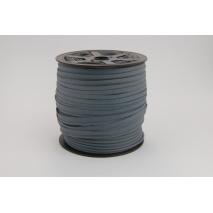 Cotton edging ribbon steel color
