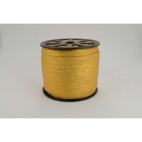 Bias binding dark gold glitter