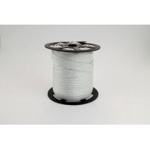 Bias binding silver lama