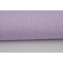 Cotton 100% small violet stripes