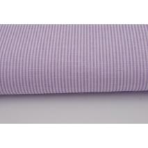 Cotton 100% small violet stripes