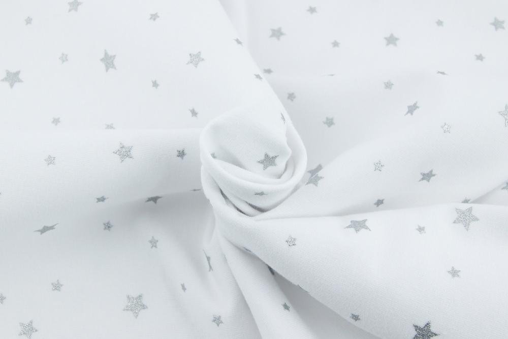 looped knitwear silver stars